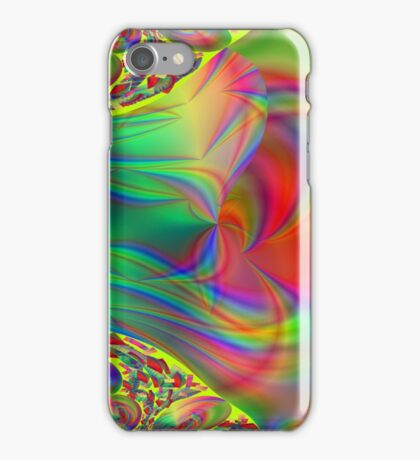 Rainbow Fractal iPhone Case/Skin