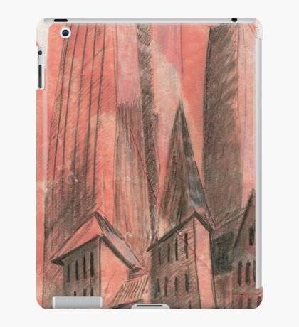 City history iPad Case/Skin