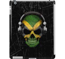 Dj Skull with Jamaican Flag iPad Case/Skin