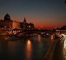 Paris Sunset by Kevin Hayden