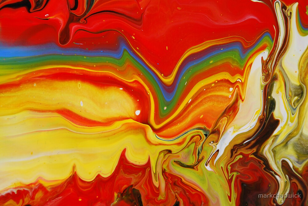 abstract caleido rainbow red - photo #16
