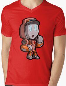 Lil Wheelster Mens V-Neck T-Shirt