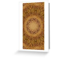 praire field honey Greeting Card