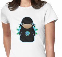 Koki Kawaii Little Sky Tshirt Womens Fitted T-Shirt