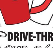 Drive-Thru Gangster Sticker