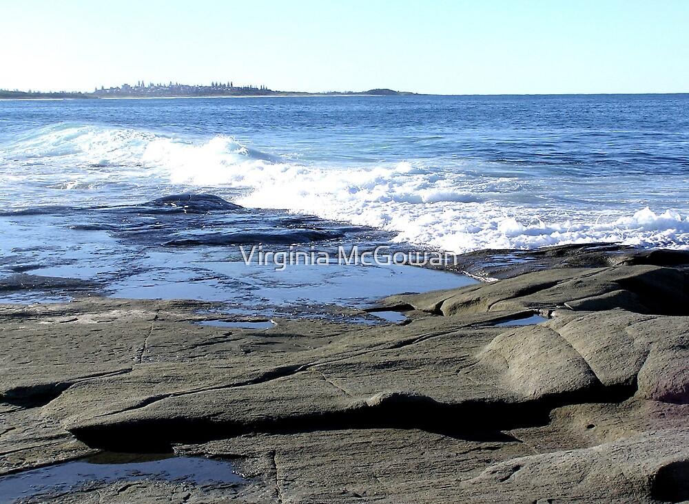 Iluka Beach Rocks  by Virginia McGowan