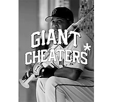 Giant Cheaters Photographic Print