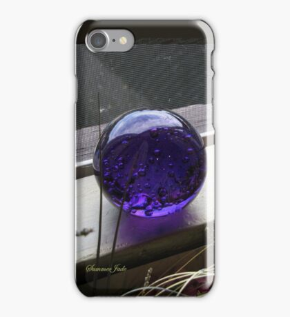 Open Window on a Cloudy Day iPhone Case/Skin