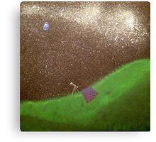 TARDIS Gazing Canvas Print