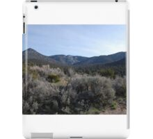 sage brush iPad Case/Skin