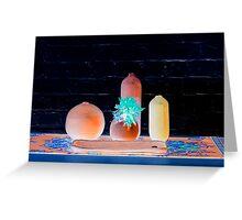 Citrus Glow Greeting Card