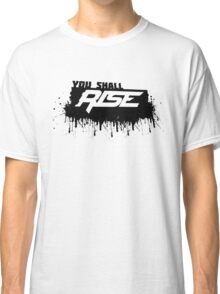 Rise Paint Block BLACK Classic T-Shirt