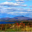 Green Mountains Of Vermont by Deborah  Benoit