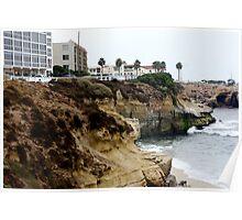 Cliffs of La Jolla Poster