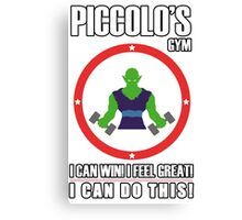 Piccolo's Gym Variant Canvas Print