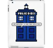 DOCTOR WHO - MAD MAN WITH A BOX iPad Case/Skin