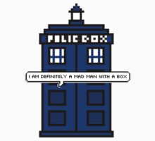 DOCTOR WHO - MAD MAN WITH A BOX Kids Clothes