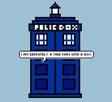 DOCTOR WHO - MAD MAN WITH A BOX Unisex T-Shirt