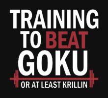 Beat Goku or Krillin DBZ Dragon Ball Z by karhoma