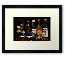 alcohol Framed Print