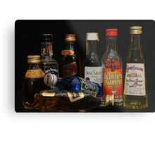 alcohol Metal Print