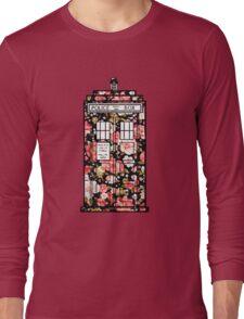 Floral TARDIS 2 Long Sleeve T-Shirt