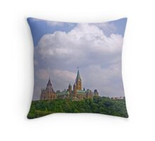 Capital Of Canada Throw Pillow