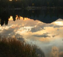 Sunrise on Sprague Lake by Paul Gana
