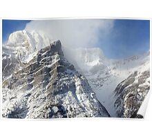 Windy peaks Poster