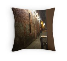 Spotlight Alley Throw Pillow