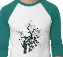 Aztec Tree Men's Baseball ¾ T-Shirt
