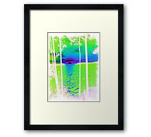 Green-Available As Art Prints-Mugs,Cases,Duvets,T Shirts,Stickers,etc Framed Print