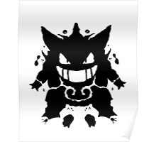 Who's That Inkblot?  It's Gengar! Poster