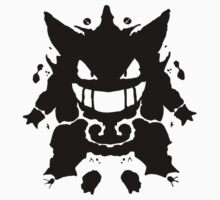 Who's That Inkblot?  It's Gengar! by DelverStudios