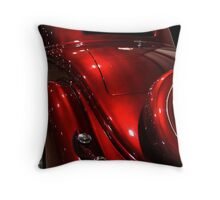 Poison Apple Red Throw Pillow
