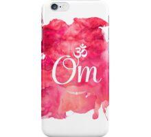 Om art print iPhone Case/Skin