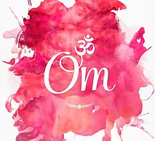 Om art print by Pranatheory
