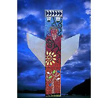 The Angel: Myuna totem pole Photographic Print