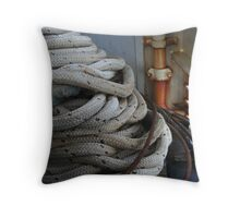 Nautical Knots Throw Pillow