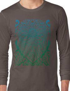 Sunflower pattern Long Sleeve T-Shirt