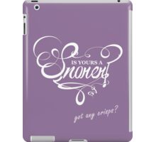 Is Yours a Snorer? iPad Case/Skin