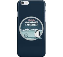 Visit the Mountains of Madness - Round iPhone Case/Skin