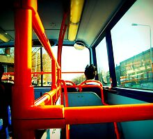 Two Storey Bus by Shannon Byous Ruddy