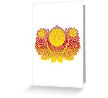 Gold Pattern Greeting Card
