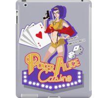 Poker Alice iPad Case/Skin