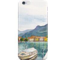 Lugano on Lake Lugano Switzerland iPhone Case/Skin