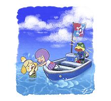 Isabelle Overboard! by Lyndsey Little