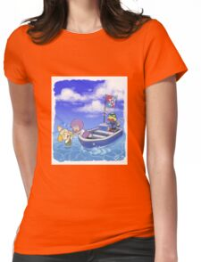 Isabelle Overboard! Womens Fitted T-Shirt