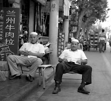Lan Zhou Noodle Chefs by WoAi