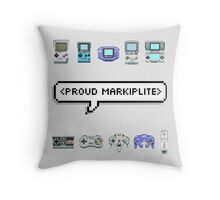 MARKIPLIER - PROUD MARKIPLITE Throw Pillow
